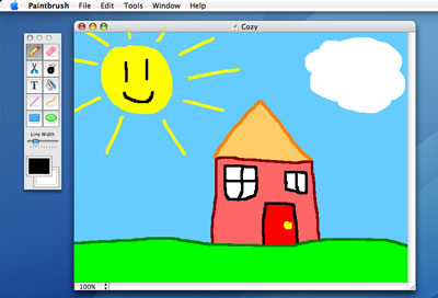 Paintbrush A New Free Paint Program For Mac Os X Macnews