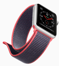 The Apple Watch Series 3 adds cellular support