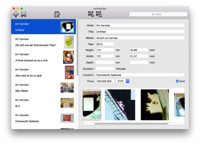 ArtHandler for Mac OS X gets new export functionality, more